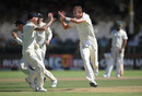 Stuart Broad wheels away in celebration, South Africa v England, 2nd Test, Cape Town, 5th day, January 7, 2020