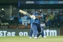 Kusal Perera whips a short ball through the leg side, India v Sri Lanka, 2nd T20I, Indore, January 7, 2020