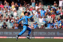 Rashid Khan races off after claiming his hat-trick, Adelaide Strikers v Sydney Sixers, Big Bash, Adelaide, January 8, 2019