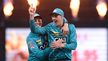 Matt Renshaw celebrates after taking a difficult catch