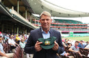 Shane Warne with his baggy green, Sydney, January 7, 2019