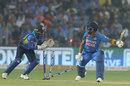 Kusal Perera looks confident he has stumped KL Rahul, India v Sri Lanka, 3rd T20I, Pune
