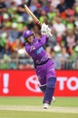 George Bailey is quick with his feet, Sydney Thunder v Hobart Hurricanes, Big Bash League, Sydney, January 11, 2020