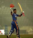 Najmul Hossain Shanto scored his maiden T20 century, Dhaka Platoon vs Khulna Tigers, BPL 2019-20, Dhaka, January 11, 2020