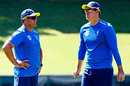 Jacques Kallis and Paul Harris at South Africa training, Centurion, December 20, 2019