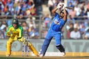 Rishabh Pant whips one on the leg side, India v Australia, 1st ODI, Mumbai, January 14, 2020
