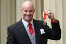 Andrew Strauss receives his knighthood, Buckingham Palace, January 14, 2020