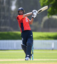 Lewis Gregory belted an unbeaten 29 off 11 balls in England's warm-up game, New Zealand A v England, Tour match, Lincoln, October 29, 2019