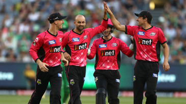 Nathan Lyon will soon be back in Sydney Sixers colours