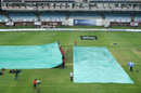 Rain delayed proceedings on the second morning, South Africa v England, 3rd Test, Port Elizabeth, 2nd day, January 17, 2020
