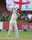 Ben Stokes launches one over the leg side, South Africa v England, 3rd Test, Port Elizabeth, 2nd day, January 17, 2020