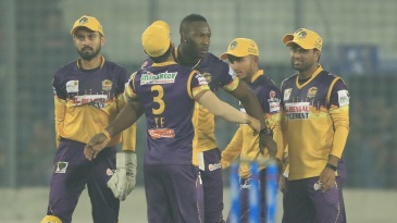 Andre Russell proved to be the perfect captain for Rajshahi Royals