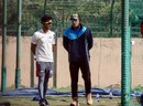 MS Dhoni at the Jharkhand nets, Ranchi