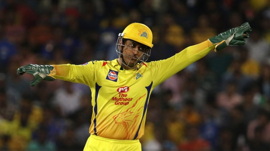 MS Dhoni, in charge at Chennai Super Kings as usual