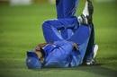 Rohit Sharma fell awkwardly on his left shoulder while fielding, India v Australia, 2nd ODI, Rajkot, January 17, 2020