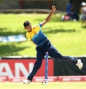 Matheesha Pathirana prepares to send one down, India v Sri Lanka, Under-19 World Cup 2020, Bloemfontein, January 19, 2020