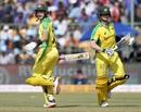 Marnus Labuschagne and Steven Smith run between the wickets, India v Australia, 3rd ODI, Bengaluru, January 19, 2020