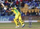 Steven Smith works one fine down the leg side, India v Australia, 3rd ODI, Bengaluru, January 19, 2020