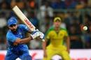 Virat Kohli plays spin watchfully, India v Australia, 3rd ODI, Bengaluru, January 19, 2020
