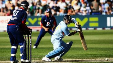 In a match aggregating 649 runs in Bristol in 2007, Sachin Tendulkar top-scored with 99