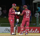 Lendl Simmons and Evin Lewis put on a dominating opening stand, West Indies v Ireland, 3rd T20I, St Kitts, January 19, 2020