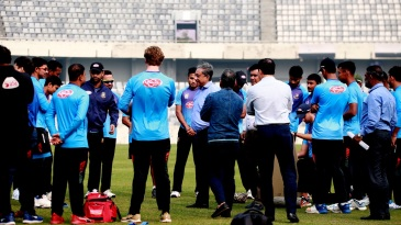 Nazmul Hassan has a chat with the Bangladesh touring party for Pakistan