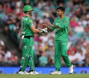 Sandeep Lamichhane picked up a couple of wickets, Sydney Sixers v Melbourne Stars, Big Bash League 2019-20, Sydney, January 20, 2020