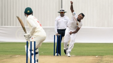 Suranga Lakmal bowled a fine spell on the second morning