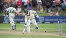 Keshav Maharaj is caught short of his crease, South Africa v England, 3rd Test, Port Elizabeth, 5th day, January 20, 2020