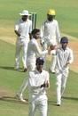 M Siddharth celebrates a wicket, Tamil Nadu v Railways, Ranji Trophy 2019-20, Chennai, January 20, 2020