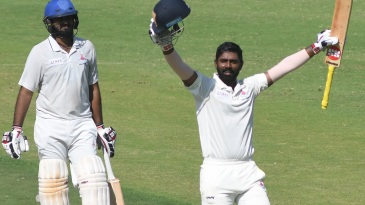 Abhinav Mukund marked his 100th Ranji game with a 100