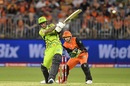Alex Hales shored up the Thunder innings with a 59-ball 85, Perth Scorchers v Sydney Thunder, Big Bash League 2019-20, Perth, January 20, 2020
