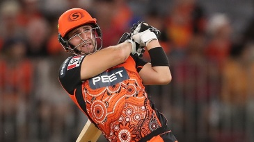 Liam Livingstone led the Scorchers run chase brilliantly