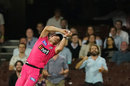 Moises Henriques held on to a high catch, Sydney Sixers v Melbourne Stars, Big Bash League 2019-20, January 20, 2020