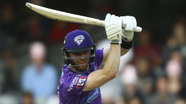 Mac Wright batted through the Hurricanes innings