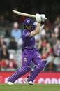 Mac Wright batted through the Hurricanes innings, Melbourne Renegades v Hobart Hurricanes, Big Bash League 2019-20, Melbourne, January 21, 2020