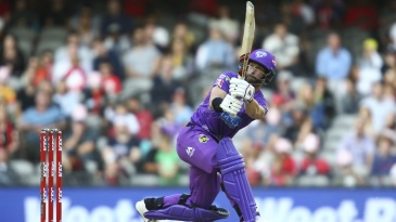 Matthew Wade turned it on at the top of the Hurricanes innings