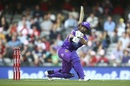 Matthew Wade turned it on at the top of the Hurricanes innings, Melbourne Renegades v Hobart Hurricanes, Big Bash League 2019-20, Melbourne, January 21, 2020
