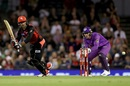 Mohammad Nabi gave the Renegades a chance with a late charge, Melbourne Renegades v Hobart Hurricanes, Big Bash League 2019-20, Melbourne, January 21, 2020