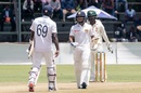 Kusal Mendis and Angelo Mathews forged a steady partnership, Zimbabwe v Sri Lanka, 1st Test, 3rd Day, Harare, January 21, 2020