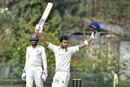 Manoj Tiwary celebrates his triple-hundred, Ranji Trophy 2019-20, January 21, 2020