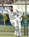 Shahbaz Ahmed claimed a hat-trick for Bengal, Bengal v Hyderabad, Kalyani, Ranji Trophy 2019-20, January 22, 2020