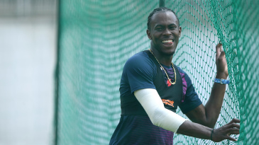 Jofra Archer looked close to full fitness in England training