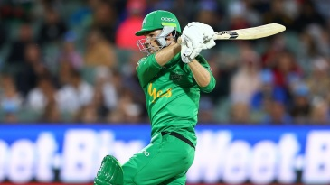 Peter Handscomb top-scored in the Stars' chase