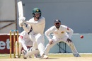 Sean Williams plays a reverse sweep, Zimbabwe v Sri Lanka, 1st Test, Harare, 5th day, January 23, 2020