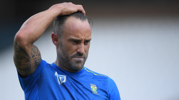 South Africa's struggles have left Faf du Plessis tearing his hair out