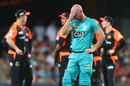 Chris Lynn could only watch as his top order collapsed, Brisbane Heat v Perth Scorchers, BBL, Carrara, January 1, 2020