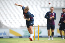 Sam Curran bowls in the nets, England training, The Wanderers, January 23, 2020