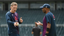 Dom Bess chats to spin consultant Jeetan Patel, England training, The Wanderers, January 23, 2020
