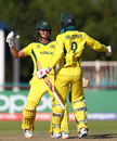 Connor Sully and Todd Murphy's unbeaten ninth-wicket stand won it for Australia, England vs Australia, U-19 World Cup, Kimberley, January 23, 2020